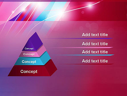 Colorful Abstract Fantasy PowerPoint Template Slide 12