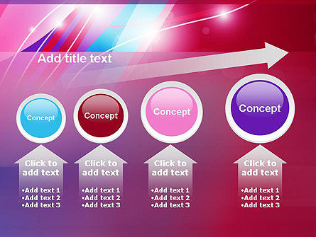 Colorful Abstract Fantasy PowerPoint Template Slide 13