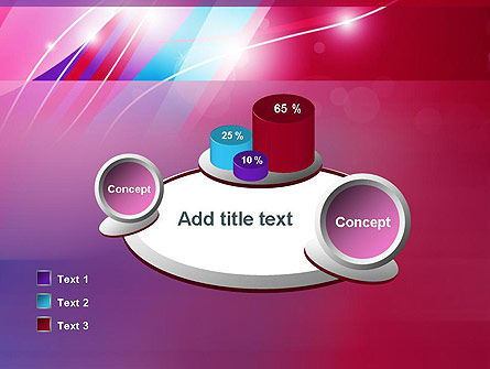 Colorful Abstract Fantasy PowerPoint Template Slide 16