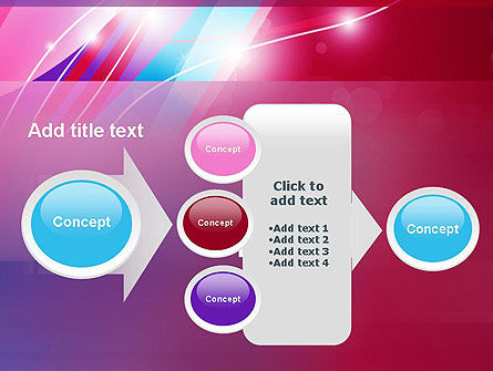 Colorful Abstract Fantasy PowerPoint Template Slide 17