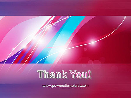 Colorful Abstract Fantasy PowerPoint Template Slide 20