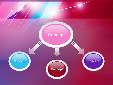 Colorful Abstract Fantasy PowerPoint Template Slide 4