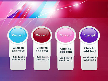 Colorful Abstract Fantasy PowerPoint Template Slide 5