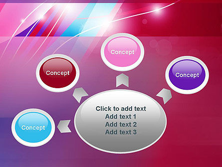 Colorful Abstract Fantasy PowerPoint Template Slide 7