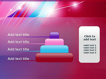 Colorful Abstract Fantasy PowerPoint Template Slide 8