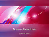 Abstract/Textures: Colorful Abstract Fantasy PowerPoint Template #12620