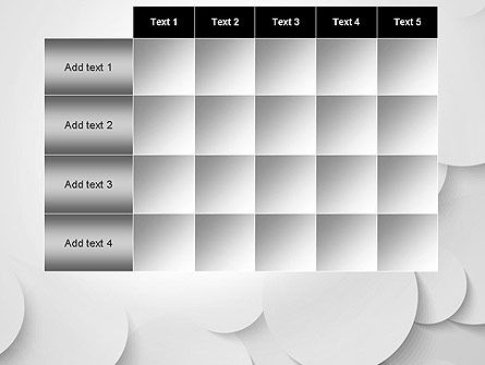 Abstract Gray Circles PowerPoint Template Slide 15