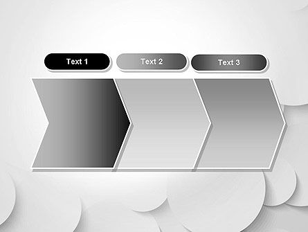 Abstract Gray Circles PowerPoint Template Slide 16
