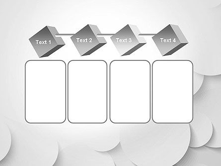 Abstract Gray Circles PowerPoint Template Slide 18