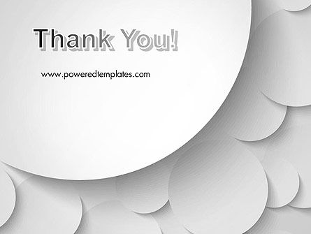 Abstract Gray Circles PowerPoint Template Slide 20
