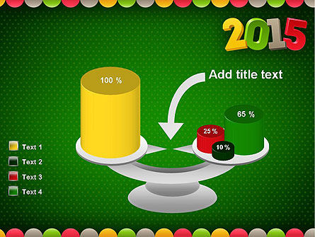 2015 Colored Numbers PowerPoint Template Slide 10
