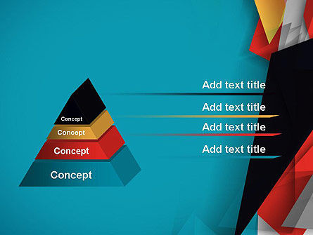 Abstract Paper Applique PowerPoint Template Slide 12