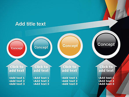 Abstract Paper Applique PowerPoint Template Slide 13