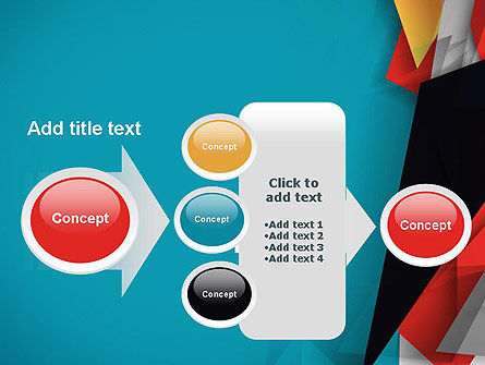 Abstract Paper Applique PowerPoint Template Slide 17