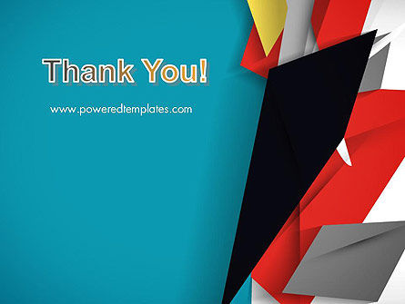 Abstract Paper Applique PowerPoint Template Slide 20