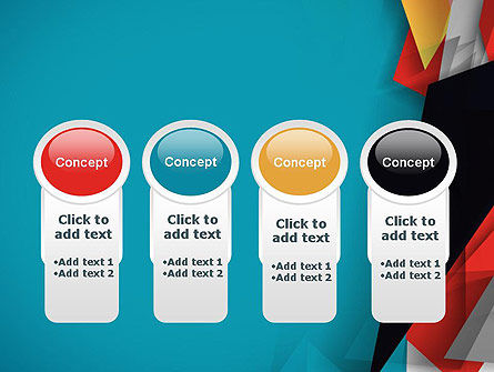 Abstract Paper Applique PowerPoint Template Slide 5