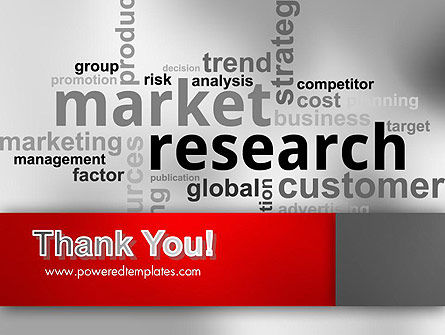 Market Research Word Cloud PowerPoint Template Slide 20