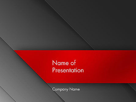 Austere PowerPoint Template