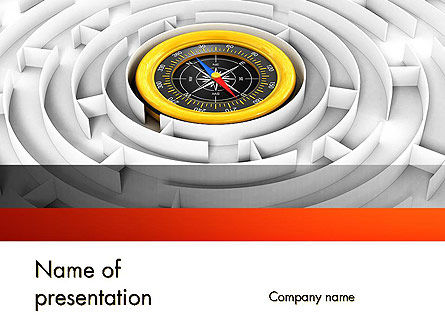 Business Orientation PowerPoint Template, 12629, Business Concepts — PoweredTemplate.com