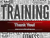 Training Word Cloud PowerPoint Template#20