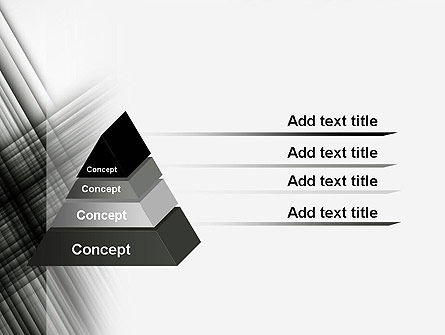 Abstract Intersecting Black Lines PowerPoint Template Slide 12