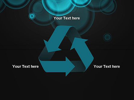 Azure Abstract Circles PowerPoint Template Slide 10