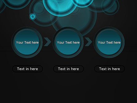 Azure Abstract Circles PowerPoint Template Slide 5