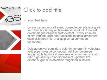 Forward Oriented PowerPoint Template, Slide 3, 12634, Business — PoweredTemplate.com