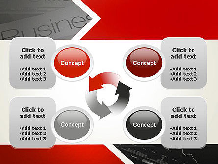 Forward Oriented PowerPoint Template Slide 9