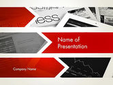 Business: Forward Oriented PowerPoint Template #12634