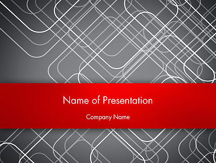Abstract/Textures: Intricacies PowerPoint Template #12636