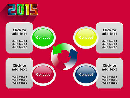 Modern Style 2015 PowerPoint Template Slide 9