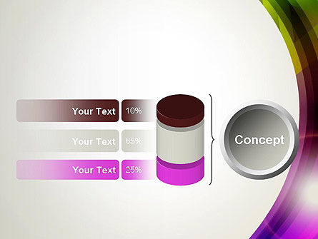 Colorful Abstract PowerPoint Template Slide 11