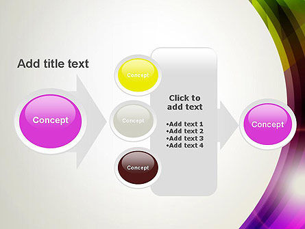 Colorful Abstract PowerPoint Template Slide 17