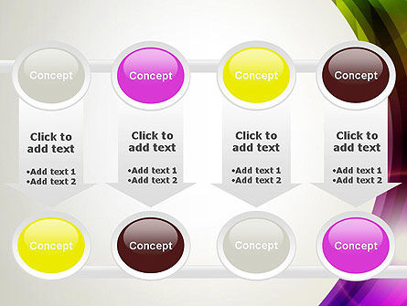Colorful Abstract PowerPoint Template Slide 18