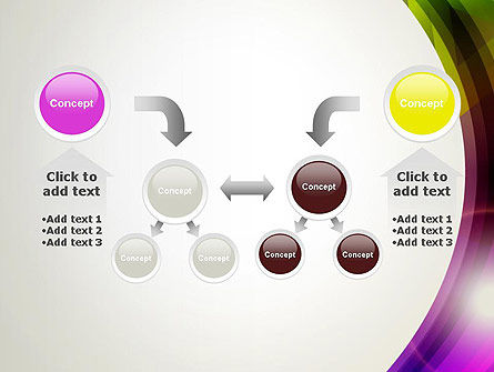 Colorful Abstract PowerPoint Template Slide 19