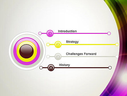 Colorful Abstract PowerPoint Template Slide 3