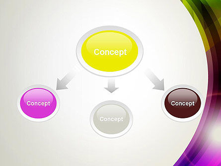Colorful Abstract PowerPoint Template Slide 4
