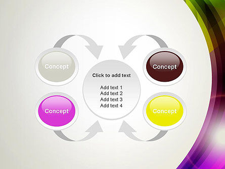 Colorful Abstract PowerPoint Template Slide 6