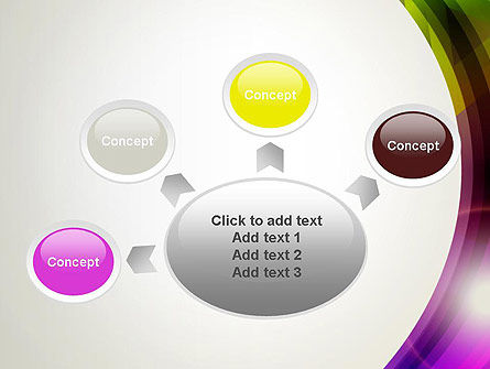 Colorful Abstract PowerPoint Template Slide 7