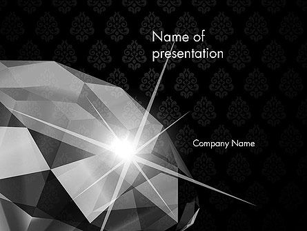 Careers/Industry: Diamond Facets PowerPoint Template #12643