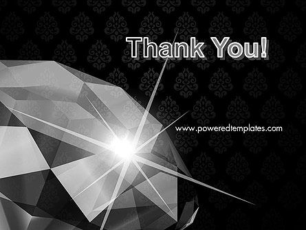 Diamond Facets PowerPoint Template Slide 20