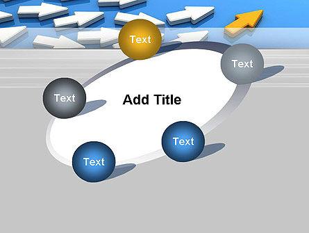 Managing Arrow PowerPoint Template Slide 14