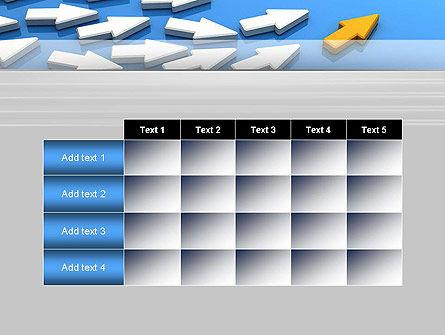 Managing Arrow PowerPoint Template Slide 15