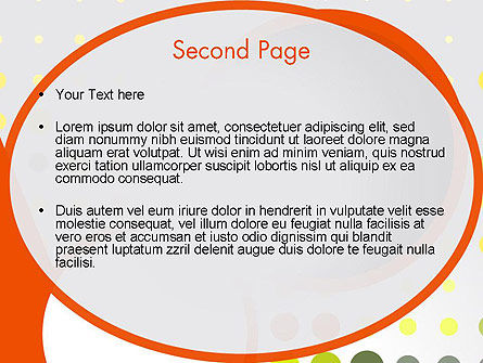 Abstract Circles PowerPoint Template Slide 2