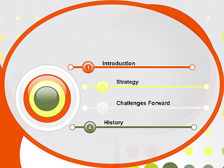 Abstract Circles PowerPoint Template Slide 3