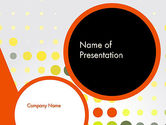 Abstract/Textures: Abstract Circles PowerPoint Template #12645