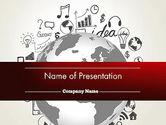 Education & Training: Globales wissen PowerPoint Vorlage #12646