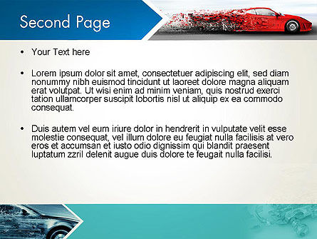 Car Design Industry PowerPoint Template Slide 2