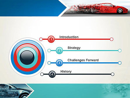 Car Design Industry PowerPoint Template Slide 3